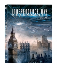 [Blu-ray] Independence Day: Resurgence Fullslip(2Disc: 3D+2D) Steelbook LE