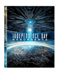 [Blu-ray] Independence Day: Resurgence Lenticular(O-ring)(2Disc: 3D+2D) Steelbook LE