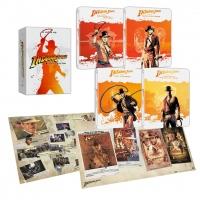 [Blu-ray] Indiana Jones 4-Film Collection Steelbook LE (5disc: 4K UHD + 2D)