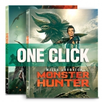 [Blu-ray] Monster Hunter One Click 4K(2disc: 4K UHD+2D) Steelbook LE(Weetcollection Collection 22)
