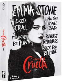 [Blu-ray] Cruella Fullslip(1Disc: BD) Steelbook LE